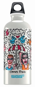 La borraccia ecologica in alluminio Sigg by James Rizzi