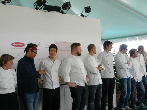 Gli chef di Taste of Milano 2012