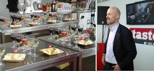 Tasting Formaggi Svizzeri con Davide Oltolini