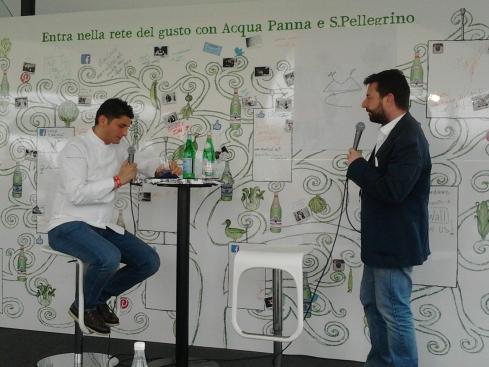 #tasteandshare Andrea Aprea chef del Vun - Park Hyatt Hotel Milano intervistato da Gianluca Biscalchin