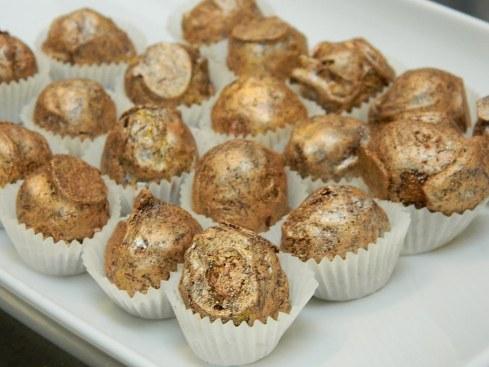 Per chiudere in dolcezza... cioccolatini croccanti preparati da Viviana Varese