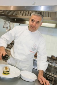 Lo chef Valter Ferretto