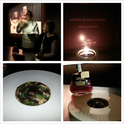 Lo chef Massimo Bottura spiega il piatto ispirato a Zacapa