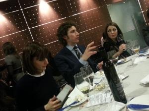 Federico Malgarini guida la degustazione dei passiti