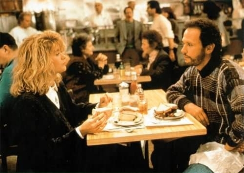 "Una scena del film ""Harry, ti presento Sally"""