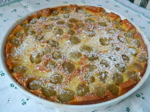 Di solito il clafoutis, nella versione tradizionale è preparato con le ciliegie