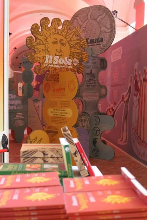 """Foto della mostra """"Barbanera dei cibi felici"""" tratta da https://www.facebook.com/AlmanaccoBarbanera"""