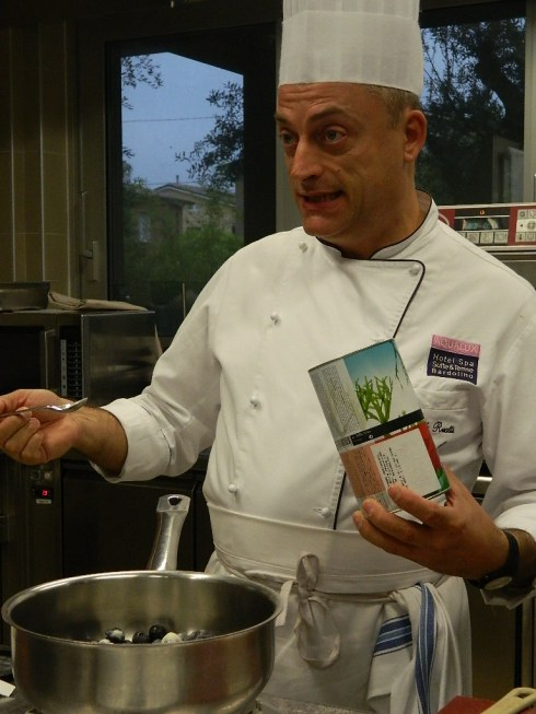 Lo chef Angelo Ruatti