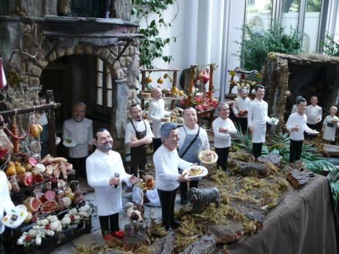 Il Presepe degli Chef realizzato da Marco Ferrigno