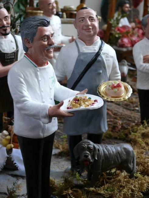 Il Presepe degli Chef: Alfonso Iaccarino e Ciccio Sulatano