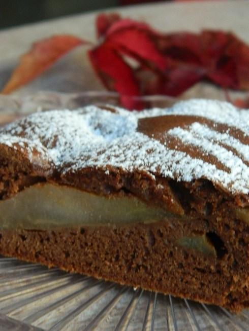 torta cioccolato_pere_rhum_cannella_2
