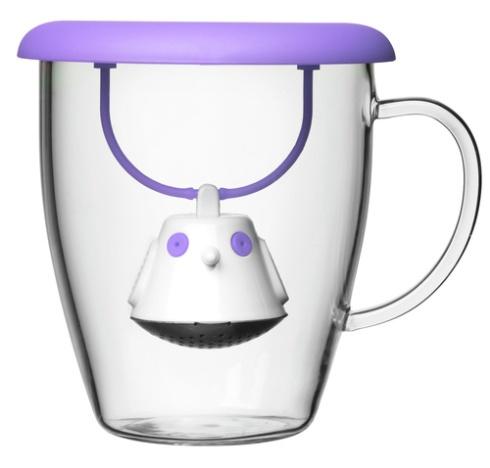 Birdie Swing è l'infusore per il tè salvagoccia