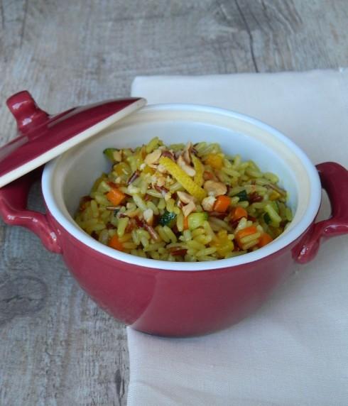 riso e verdure multicolor