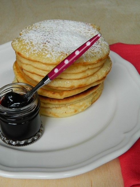 Pancake al latte di cocco