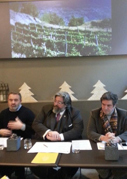 Un momento della conferenza stampa di presentazione di RistorExpo