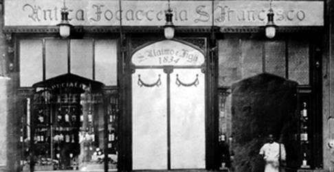 Un'immagine d'archivio della sede di Palermo (foto tratta dalla pagina faceboo dell'Antica Focacceria San Francesco)