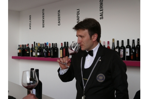 Sommelier e degustazione di vino. Foto: Vitigno Italia