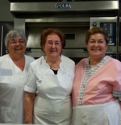 Mariuccia, Violetta e Anna