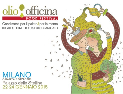 La locandina di Olio Officina Food Festival 2015