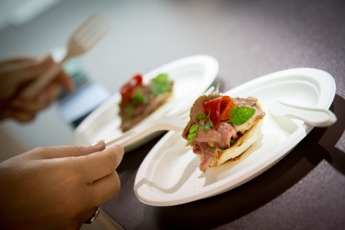 Uno dei piatti proposti nelle passate edizioni di Taste of Milano