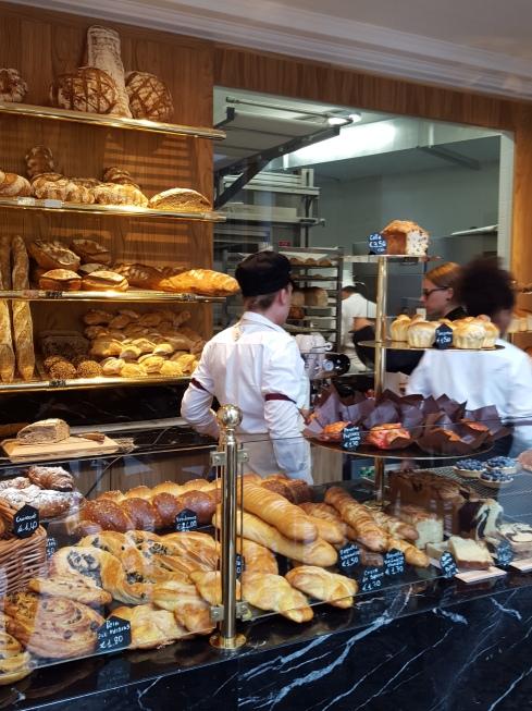 L'area boulangerie
