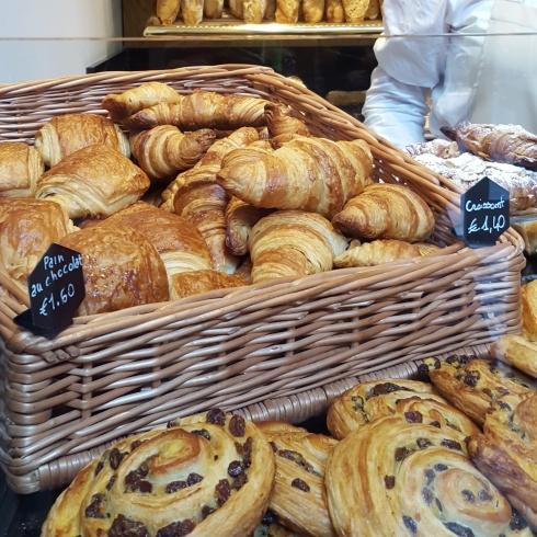 Tra croissant e pain au chocolat