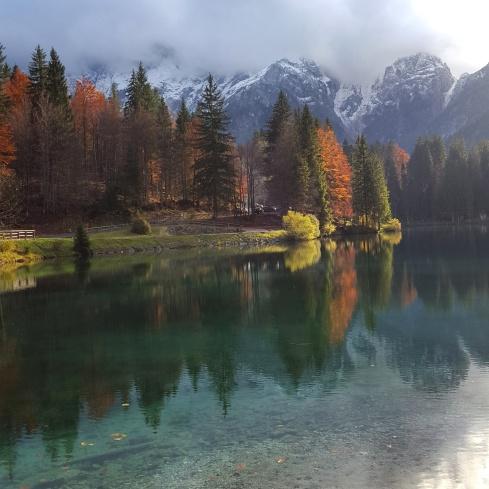Tarvisio - Laghi di Fusine: tutti i colori dell'autunno